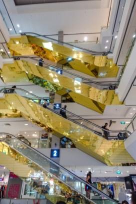 Eins von vielen Einkaufszentren