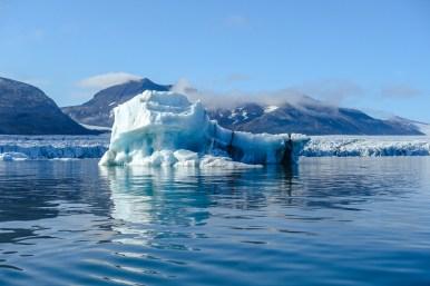 Eisberge im Brepollen
