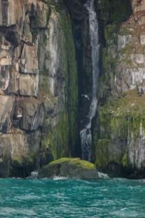 Wasserfall am Alkefjellet