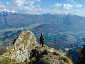 Blick vom Ausstieg vom Che Guevara Klettersteig