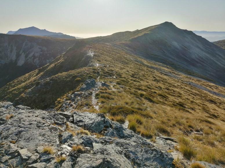 Aufstieg zum Mt Rintoul
