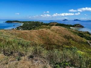 Mana Island von oben