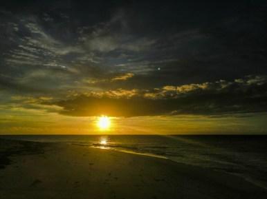 Sonnenuntergang am Sunset Beach
