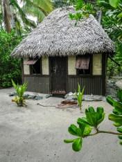 Meine Bure am Strand im Barefoot Manta