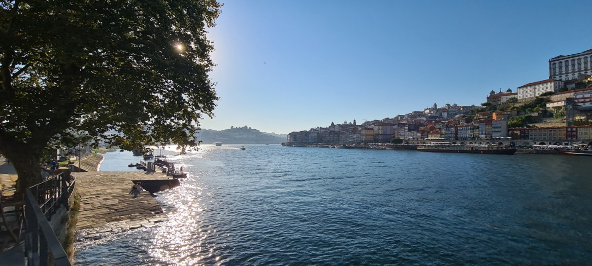 Blick von Gaia auf Porto