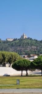 Santuário do Sagrado Coração de Jesus auf dem Hügel hinter der Stadt