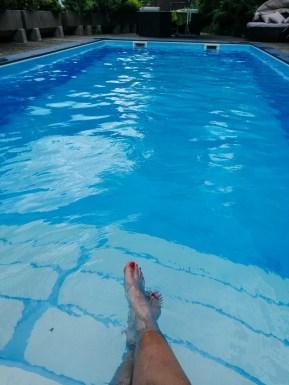 Pool im Hotel Metzgerwirt in Fieberbrunn