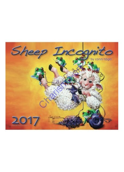 2017 Sheep Incognito calendar #sheepfling