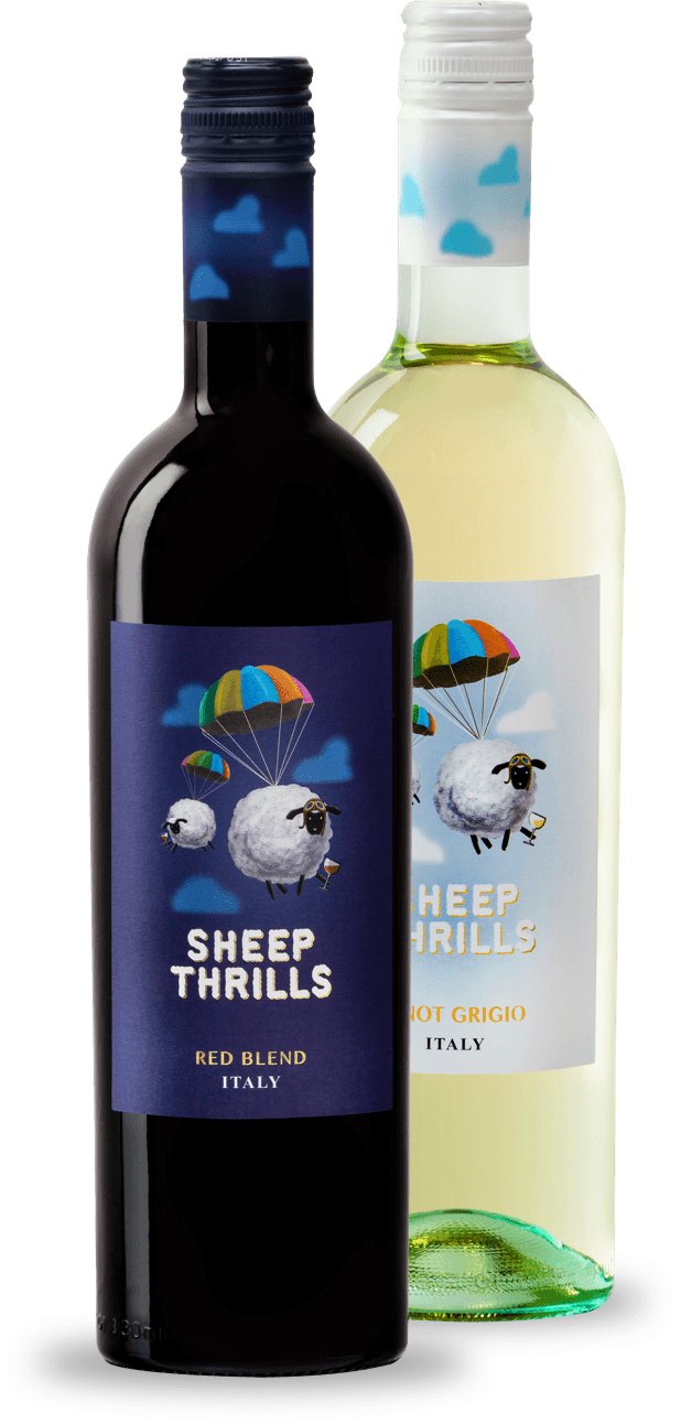 Image result for sheep thrills wine