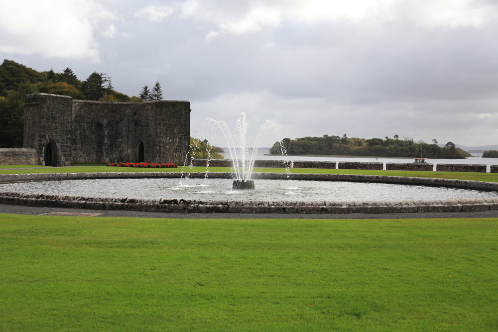 Ashford Castle Cong Co Mayo scenic view