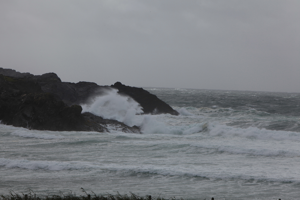 Atlantic storm Achill, Co Mayo