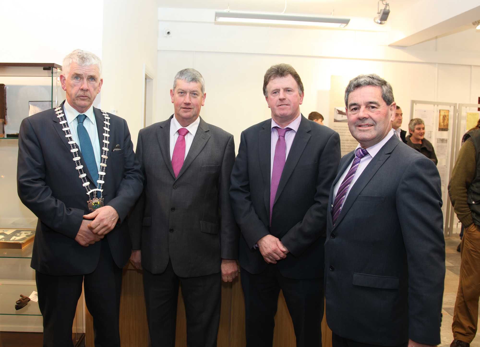 Opening ofSeán MacDiarmáda Heritage Centre in Kiltyclogher Co Leitrim