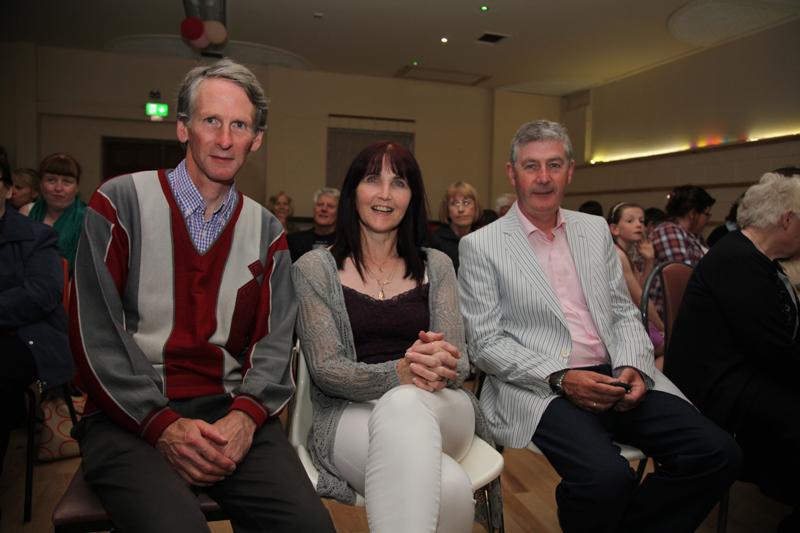 John Barry, Cecelia and Tom McGowan