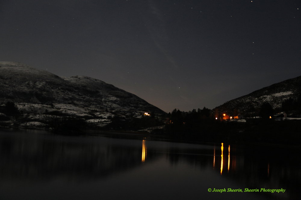 Lough Talt Starry night