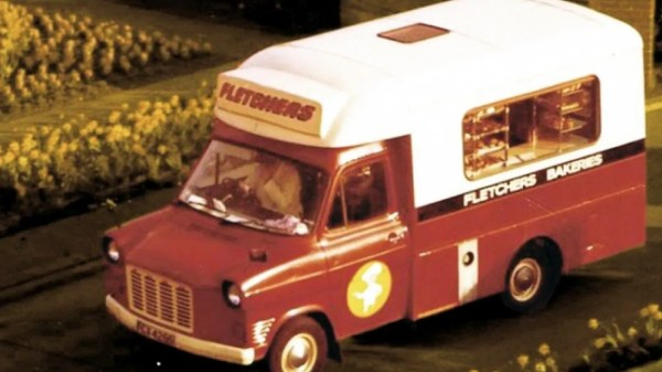 Fletchers Bakery Van