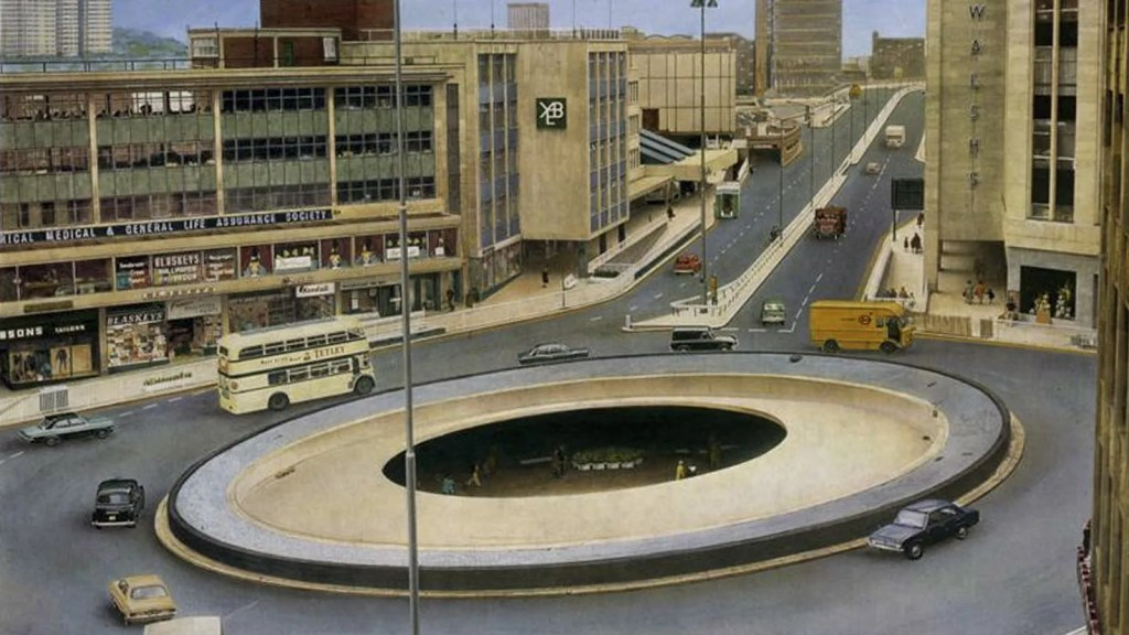 The Hole in the Road, Sheffield
