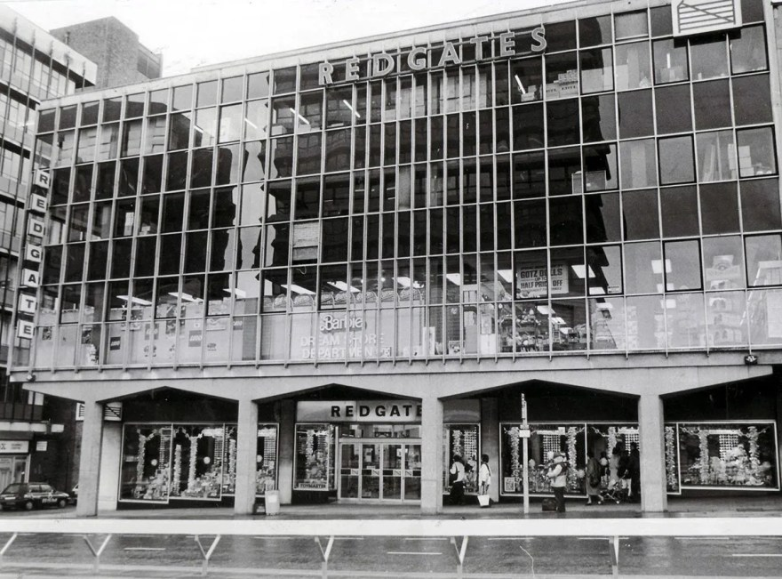 Redgates Toy Department Store, Furnival Gate