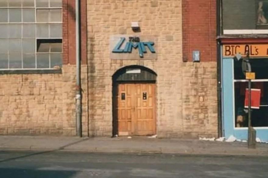 Club entrance, West Street, Sheffield