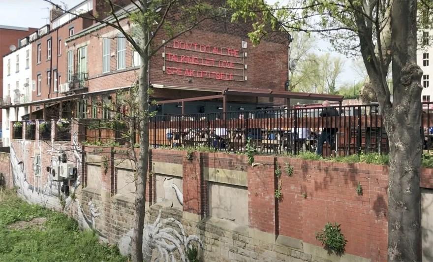 Riverside Kelham Beer Garden