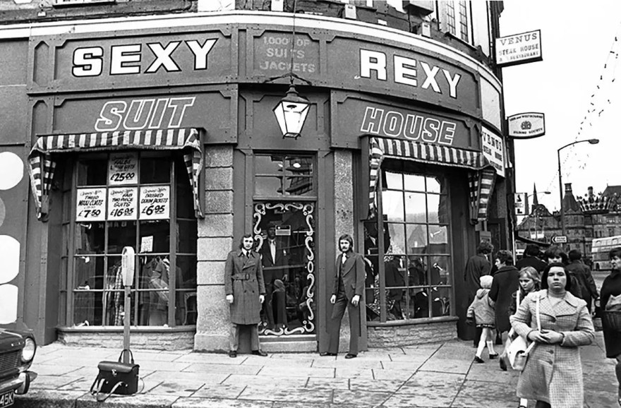 Sexy Rexy Suit Shop, Pinstone Street