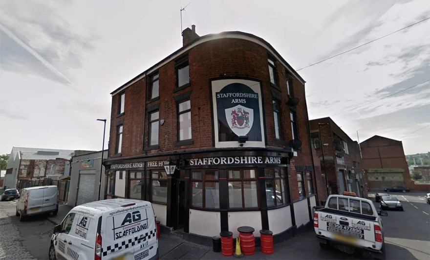 Staffordshire Arms, Corby Street
