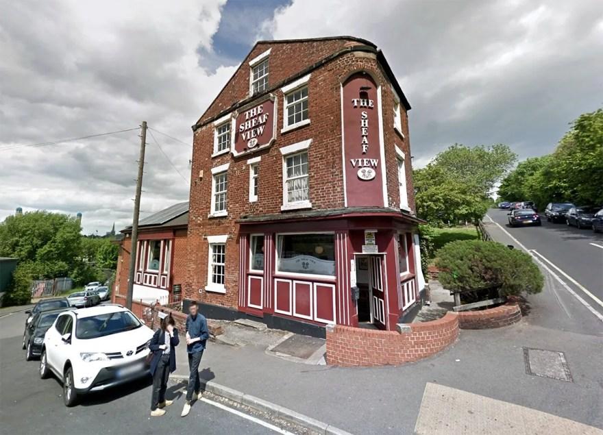 The Sheaf View pub, Gleadless Road, Sheffield