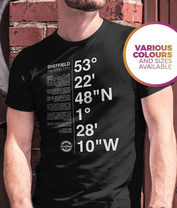 Sheffield Coordinates T-Shirt