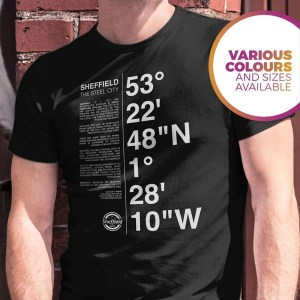 Sheffield Coordinates T-Shirt