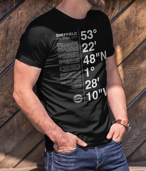 Sheffield Coordinates T-Shirt (Black)