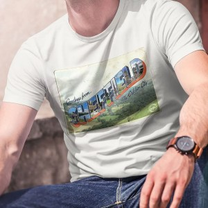 Greetings from Sheffield T-Shirt (Vintage White)