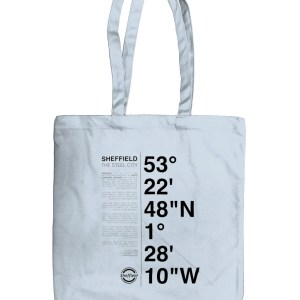 Sheffield Coordinates EarthAware Organic Spring Tote Bag (Pastel Blue)