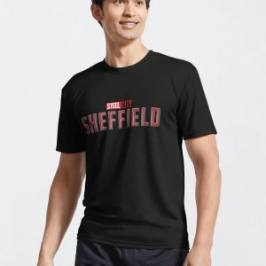 Captain Sheffield — Active T-Shirt