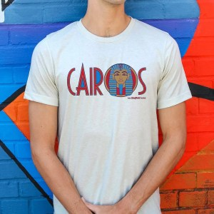 Cairos (Cairo Jax Nightclub) Sheffield T-Shirt, White