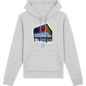 The Crucible Theatre Sheffield Hoodie Heather Grey