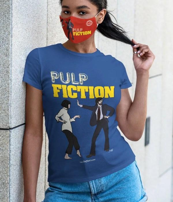 Pulp Fiction (Jarvis Cocker) Women's T-Shirt, Majorelle Blue