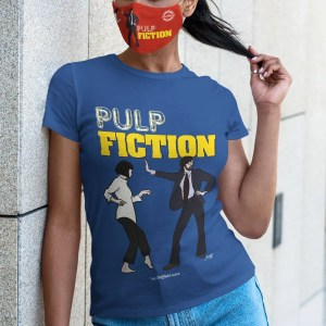 Pulp Fiction (Jarvis Cocker) Women's T-Shirt, Majorelle Blue