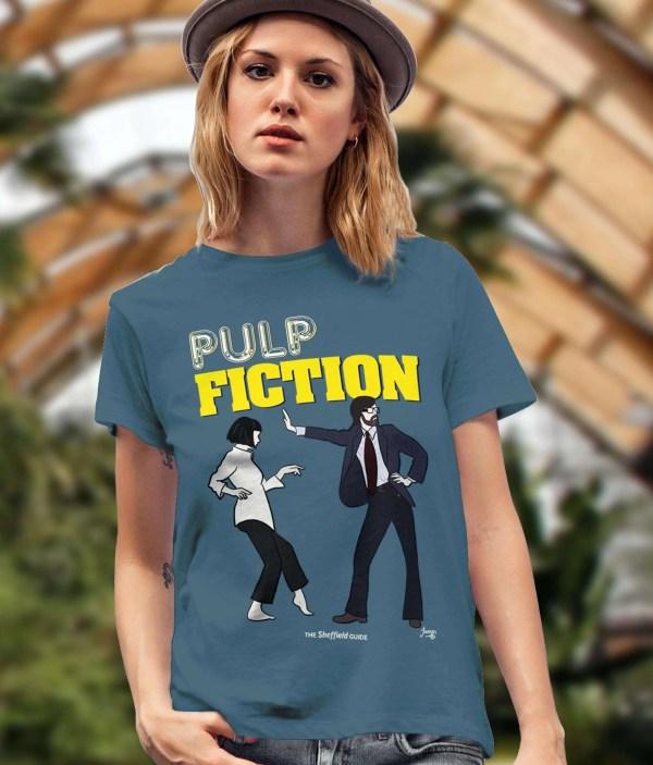 Pulp Fiction (Jarvis Cocker) T-Shirt, Stargazer