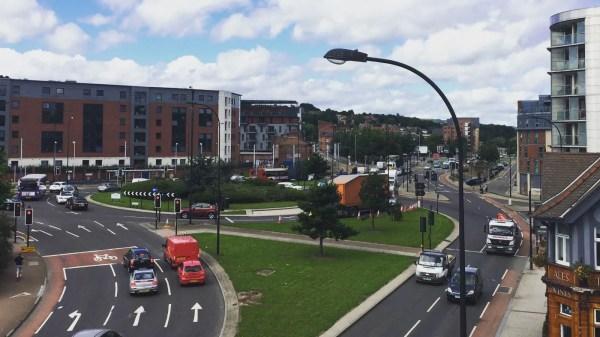 Shalesmoor Roundabout, Sheffield