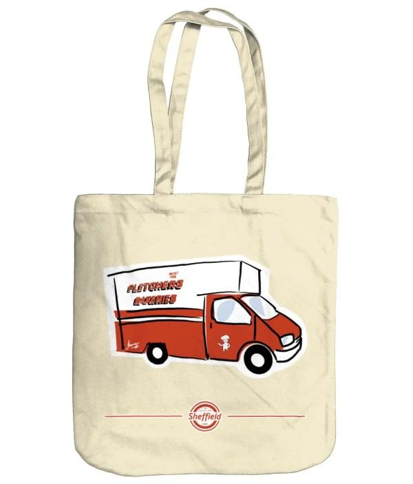 Fletchers Van Sheffield Tote Bag