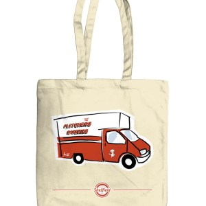 Fletchers Van Sheffield Tote Bag