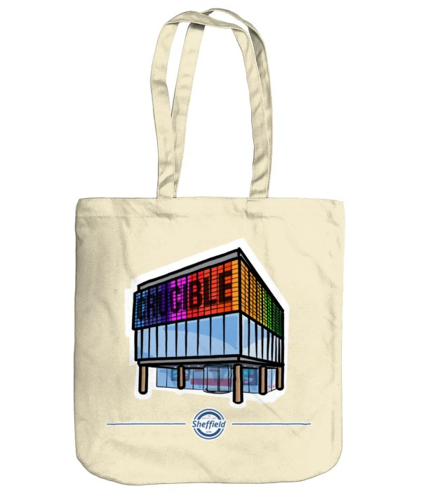 The Crucible Theatre Sheffield Organic Tote Bag