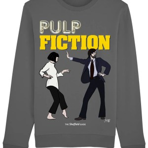 Pulp Fiction (Jarvis Cocker) Sweatshirt, Anthracite