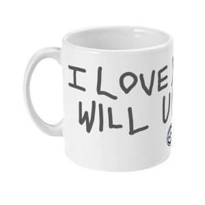 """I Love You Will U Marry Me"" Mug (Anthracite)"