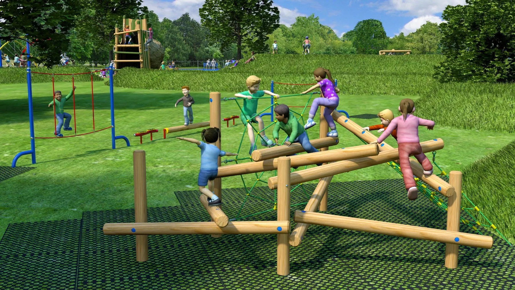 Hillsborough Park Children's Playground Upgrades: Activity Centre
