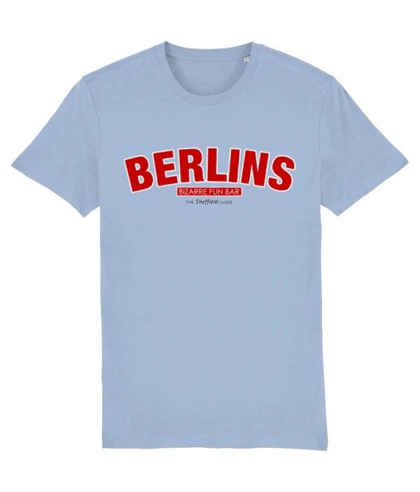 Berlins Sheffield T-Shirt, Sky Blue