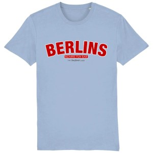 Berlins Sheffield T-Shirt, Sky Blue