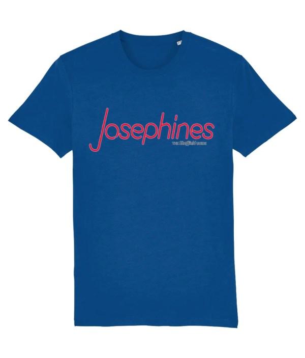 Josephines Sheffield (Neon) T-Shirt, Majorelle Blue