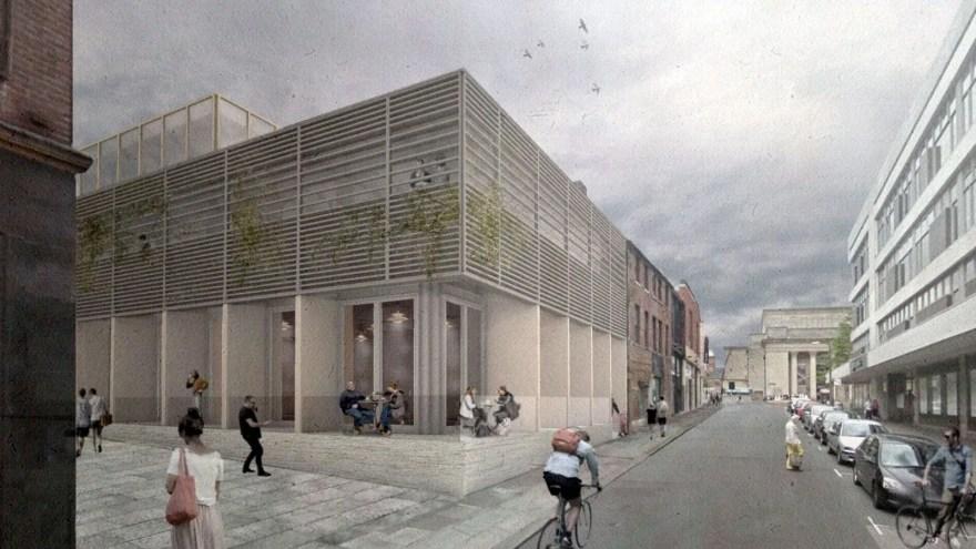 Leah's Yard Heart of the City II Proposal Drawings