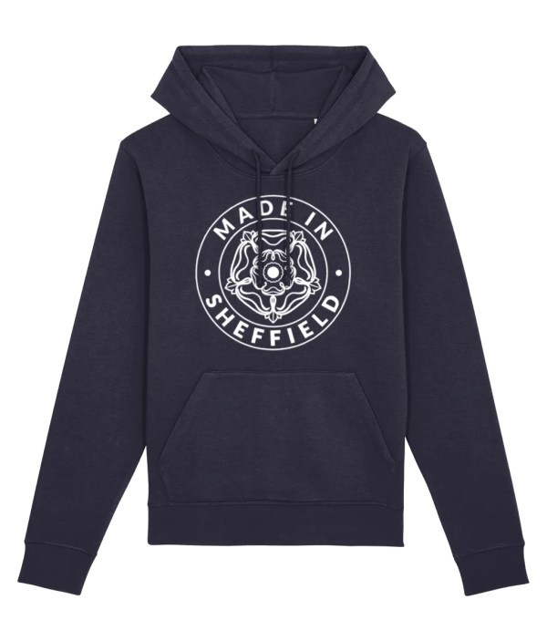 Made in Sheffield Hoodie, French Navy