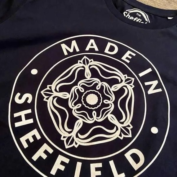 Made in Sheffield T-Shirt Detail